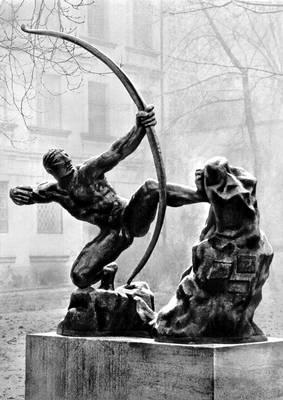 """Э. А. Бурдель """"Геракл, стреляющий из лука"""""""
